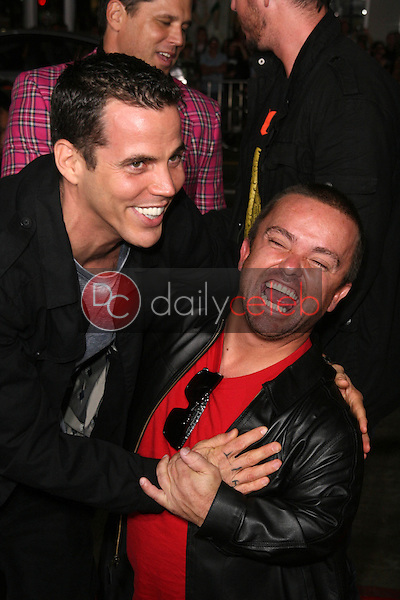 Steve O and Jason &quot;Wee Man&quot; Acuna<br />