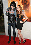 Brandi Cyrus & Trace Cyrus at the Touchstone Pictures' World Premiere of The Last Song held at The Arclight  in Hollywood, California on March 25,2010                                                                   Copyright 2010  DVS / RockinExposures