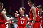 Saori Miyazaki (JPN), <br /> AUGUST 15, 2018 - Basketball : Women's Qualification round match between Hong Kong 44-121 Japan at Gelora Bung Karno Basket Hall A during the 2018 Jakarta Palembang Asian Games in Jakarta, Indonesia. <br /> (Photo by MATSUO.K/AFLO SPORT)