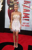 "29 March 2019 - Hollywood, California - Meagan Good. Warner Bros. Pictures And New Line Cinema's World Premiere Of ""SHAZAM!""  held at TCL Chinese Theatre IMAX. <br /> CAP/ADM/FS<br /> ©FS/ADM/Capital Pictures"