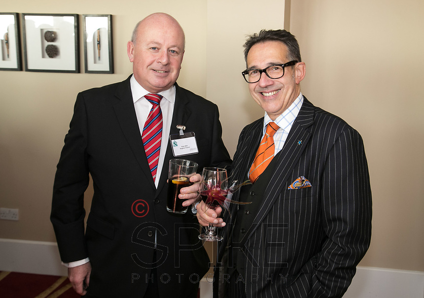 Pictured are Peter Blair of Begbies and Nick Max of NG1 Group