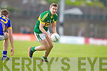 James O'Donoghue, Kerry in action against Aldo Matassa in the first round of the Munster Football Championship at Fitzgerald Stadium on Sunday.
