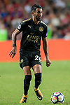 Leicester City FC midfielder Riyad Mahrez in action during the Premier League Asia Trophy match between Liverpool FC and Leicester City FC at Hong Kong Stadium on 22 July 2017, in Hong Kong, China. Photo by Weixiang Lim / Power Sport Images