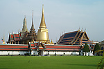 Grand Palace and Wat Phra Kaeo in Bangkok, Thailand
