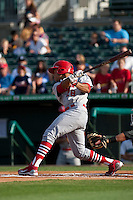 May 1 2010: Thomas Pham (28) of the Palm Beach Cardinals during a game vs. the Jupiter Hammerheads at Roger Dean Stadium in Jupiter, Florida. Palm Beach, the Florida State League High-A affiliate of the St. Louis Cardnials, won the game against Jupiter, affiliate of the Florida MArlins, by the score of 5-4  Photo By Scott Jontes/Four Seam Images