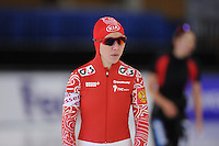 SCHAATSEN: BERLIJN: Sportforum, 06-12-2013, Essent ISU World Cup, Team Russia, 500m Ladies Division B, Yuliya Liteykina (RUS), ©foto Martin de Jong