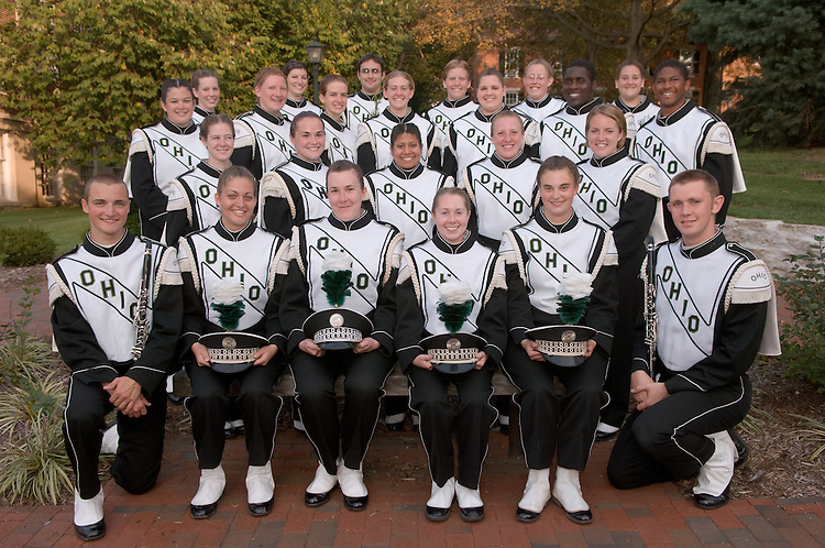 Marching 110 Group Photo, Sections and Candids 10/10/06