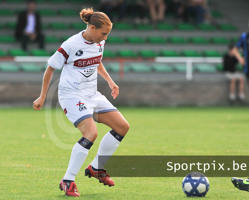 OHL Oud Heverlee Leuven Dames : Benedicte Rifflart.Foto David Catry / Vrouwenteam.be