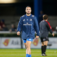 1st November 2019; RDS Arena, Dublin, Leinster, Ireland; Guinness Pro 14 Rugby, Leinster versus Dragons; James Lowe of Leinster warms up prior to kickoff - Editorial Use