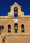 Belfry bell tower Sixteenth century Cathedral church in city of Almeria, Spain