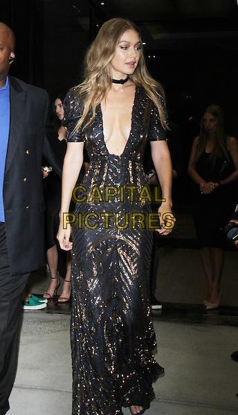 NEW YORK, NY-September 08: Gigi Hadid at Daily Front Row Fashion Media Awards at Park Hyatt in New York. NY September 08, 2016. <br /> CAP/MPI/RW<br /> &copy;RW/MPI/Capital Pictures