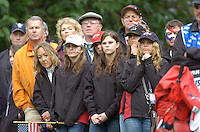Ryder Cup K Club Straffin Co Kildare.. Ryder Cup Team player during the morning fourball session of the second day of the 2006 Ryder Cup at the K Club in Straffan, County Kildare, in the Republic of Ireland, 23 September, 2006..Photo: Barry Cronin/ Newsfile.