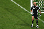 05 July 2006: Fabien Barthez (FRA) has played in the shadows of the French goal for the last three World Cups. France defeated Portugal 1-0 at the Allianz Arena in Munich, Germany in match 62, the second semifinal game, in the 2006 FIFA World Cup.