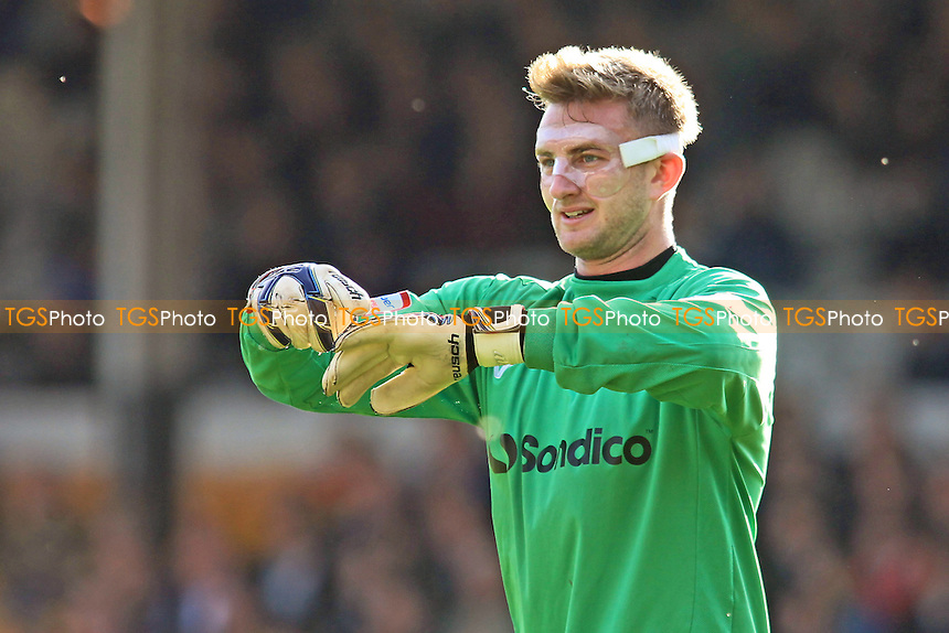 Port Vale goalkeeper, Chris Neal - Port Vale vs Wycombe Wanderers - NPower League Two Football at Vale Park - 20/10/12 - MANDATORY CREDIT: Paul Dennis/TGSPHOTO - Self billing applies where appropriate - 0845 094 6026 - contact@tgsphoto.co.uk - NO UNPAID USE.