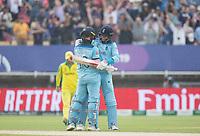 during Australia vs England, ICC World Cup Semi-Final Cricket at Edgbaston Stadium on 11th July 2019