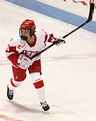 Sarah Steele (BU - 4) - The Boston College Eagles defeated the Boston University Terriers 3-2 in the first round of the Beanpot on Monday, January 31, 2017, at Matthews Arena in Boston, Massachusetts.