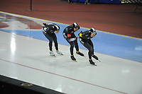 SPEEDSKATING: SALT LAKE CITY: 08-12-2017, Utah Olympic Oval, ISU World Cup, Team Pursuit Men, Team New Zealand, ©photo Martin de Jong