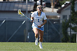 27 February 2016: North Carolina's Mallory Frysinger. The University of North Carolina Tar Heels hosted the University of Maryland Terrapins in a 2016 NCAA Division I Women's Lacrosse match. Maryland won the game 8-7.