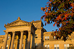 Beardshear Hall at sunrise on the campus of Iowa State University in Ames, Iowa. (Christopher Gannon/Gannon Visuals)