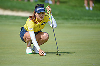 So Yeon Ryu (KOR) lines up her putt on 1 during round 4 of the 2018 KPMG Women's PGA Championship, Kemper Lakes Golf Club, at Kildeer, Illinois, USA. 7/1/2018.<br /> Picture: Golffile | Ken Murray<br /> <br /> All photo usage must carry mandatory copyright credit (&copy; Golffile | Ken Murray)