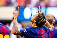 EAST RUTHERFORD, USA, 22.07.2017 - JUVENTUS-BARCELONA - Neymar Jr comemora gol do Barcelona durante partida contra Juventus valido pela International Champions Cup 2017 no MetLife Stadium na cidade de East Rutherford, New Jersey. (Foto: Vanessa Carvalho/Brazil Photo Press)