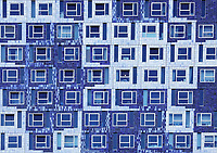 Nederland, Utrecht, 2018. Science Park Utrecht. Studentencomplex Johanna (Student Cloud). Studentenhuisvesting voor studenten aan de Universiteit van Utrecht. Het gebouw is ontworpen door Onix architecten. Foto Berlinda van Dam / Hollandse Hoogte