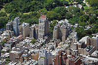 aerial photograph Central Park, upper east side, Manhattan, New York City