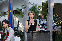 Dr. Karin Proidl.Austrian National Holiday Celebration with General Consul Dr Karin Proidl.Residenz of the Consul.Los Angeles, California.26 October 2009.Photo by Nina Prommer/Milestone Photo