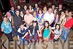 Congratulations - Sean Campbell from Listowel & Lisa Roche from Ardfert, seated centre having a wonderful time with friends and family at their engagement party held in O'Donnell's of Mounthawk on Friday night....................................................................................................................................................................................................................................................................................... ............