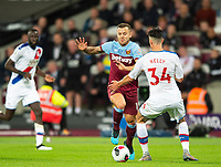 West Ham's Jack Wilshere during the Premier League match between West Ham United and Crystal Palace at the Olympic Park, London, England on 5 October 2019. Photo by Andrew Aleksiejczuk / PRiME Media Images.
