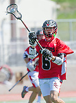 Palos Verdes, CA 03/26/16 - Jake Brannon (San Clemente #6) in action during the CIF Boys Lacrosse game between San Clemente Tritons and the Palos Verdes Seakings at Palos Verdes High School.  Palos Verdes defeated San Clemente 11-6