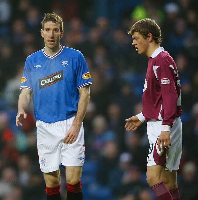Kirk Broadfoot back in action for Rangers