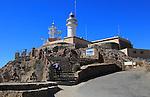 Lighthouse at Cabo de Gata headland, Cabo de Gata natural park, Nijar, Almeria, Spain