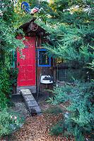 The chicken palace; Kate Frey Garden