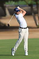 Jens Danthorp (SWE) on the 3rd fairway during Round 4 of the Omega Dubai Desert Classic, Emirates Golf Club, Dubai,  United Arab Emirates. 27/01/2019<br /> Picture: Golffile | Thos Caffrey<br /> <br /> <br /> All photo usage must carry mandatory copyright credit (&copy; Golffile | Thos Caffrey)