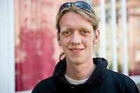 Berlin, Donnerstag (06.06.13), Der stellvertretende Parteivorsitzende Markus Barenhoff bei der Vorstellung des Konzepts der Piraten f&uuml;r digitalen Wandel und eine am Verbraucher orientierte Netzpolitik.<br /> Foto: Michael Gottschalk/CommonLens