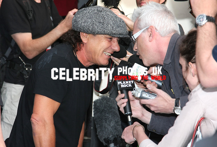 Premiere of 'AC/DC - Live at River Plate' at Hammersmith Apollo - Arrivals London, England - 06.05.11