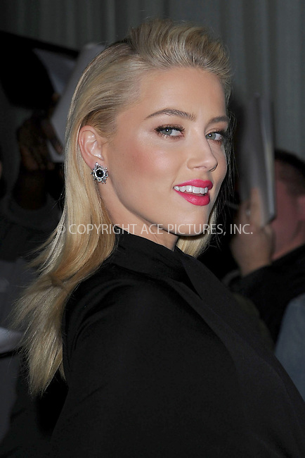 WWW.ACEPIXS.COM . . . . . .October 25, 2011...New York City....Amber Heard attends the 'The Rum Diary' New York premiere at the Museum of Modern Art on October 25, 2011 in New York City......Please byline: KRISTIN CALLAHAN - ACEPIXS.COM.. . . . . . ..Ace Pictures, Inc: ..tel: (212) 243 8787 or (646) 769 0430..e-mail: info@acepixs.com..web: http://www.acepixs.com .