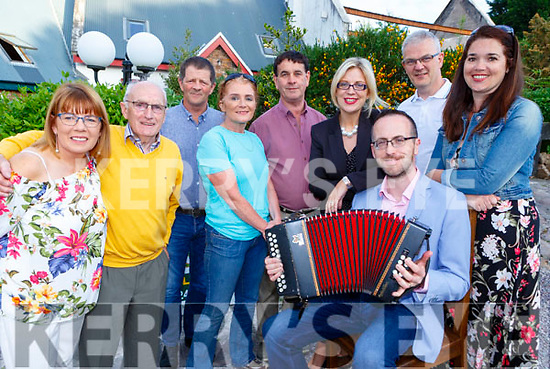 Chairman Eoin O'Shea and the  Milltown Fleadh Cheoil Chiarrai committee launcing the upcoming Fleadh in Milltown on Friday night  included are Ceilia O'Shea, Minister Brendan Griffin Amanda Courtney John Joe Harmon, Deirdre O'Gorman, Tim Wrenn, Sheila Hurley Chris Horan and Vincent Prendergast