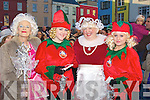 COSTUEMS: Putting on their finest costumes for the CH Chemist Santa parade on Saturday in Tralee, L-r: Ann Sugrue (Fairy Godmother), Eilish Griffin (Elf), Orla Conlon (Mrs Clause) and Shannon Clarke(elf)............................ ..........