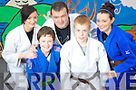 Tadhg Kelly, Killarney Judo Club, pictured with Jennifer Fitzgerald, Jack Hanrahan, Jamie O'Donoghue and Emma Fitzgerald to are going to the London Internationals on June 2nd, which will be held in the Excel Centre, the Olympic Stadium.......................