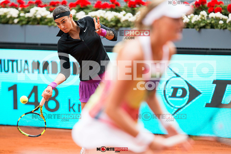 XXX during Doubles Woman Final Mutua Madrid Open Tennis 2016 in Madrid, May 07, 2016. (ALTERPHOTOS/BorjaB.Hojas) /NortePhoto.com