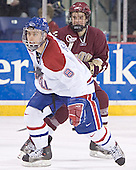 Jason Tejchma, Dan Bertram - The University of Massachusetts-Lowell River Hawks defeated the Boston College Eagles 6-3 on Saturday, February 25, 2006, at the Paul E. Tsongas Arena in Lowell, MA.