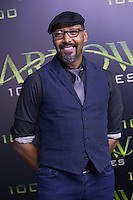 VANCOUVER, BC - OCTOBER 22: Jesse L. Martin at the 100th episode celebration for tv's Arrow at the Fairmont Pacific Rim Hotel in Vancouver, British Columbia on October 22, 2016. Credit: Michael Sean Lee/MediaPunch