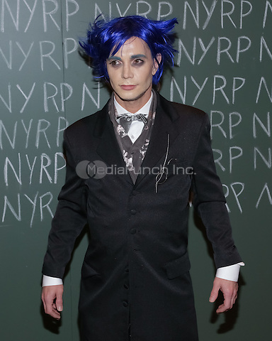 """NEW YORK, NY - OCTOBER 31 : A Gala Attendee arrives for the New York Restoration Project's 19th Annual Hulaween Gala """"FELLINI HULAWEENI"""" held at the Waldorf Astoria on October 31, 2014 in New York City.  (Photo by Brent N. Clarke / MediaPunch)"""