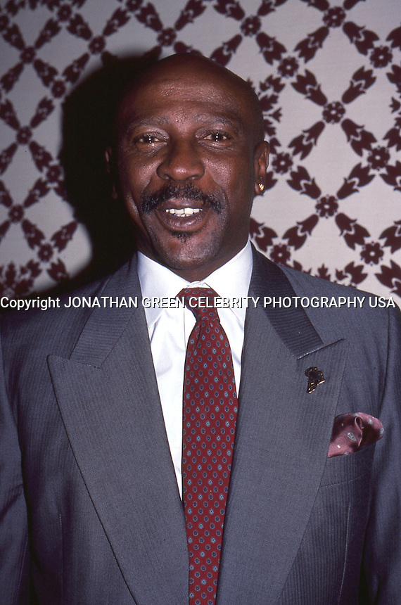 Lou Gossett Jr. 1987 by Jonathan Green