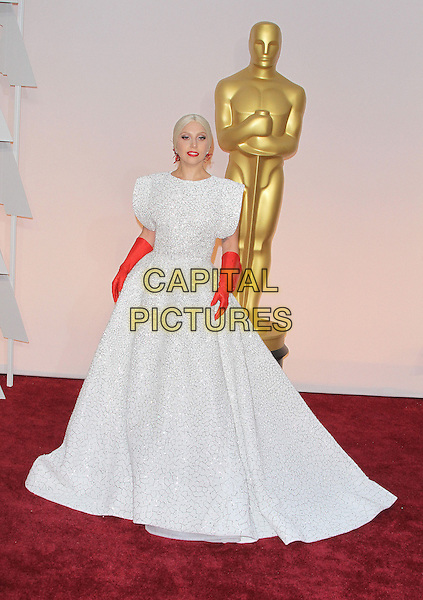 22 February 2015 - Hollywood, California - Lady Gaga. 87th Annual Academy Awards presented by the Academy of Motion Picture Arts and Sciences held at the Dolby Theatre. <br /> CAP/ADM<br /> &copy;AdMedia/Capital Pictures Oscars