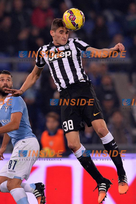 Federico Mattiello Juventus.<br /> Roma 22-11-2014 Stadio Olimpico. Football Calcio 2014/2015 Serie A. Lazio - Juventus. Foto Antonietta Baldassarre / Insidefoto
