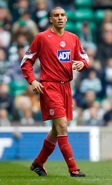 Ritchie Byrne, Aberdeen.stock season 2004-2005.pic willie vass