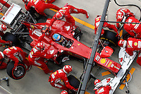 ATENCAO EDITOR - IMAGEM EMBARGADA PARA VEICULOS INTERNACIONAIS - <br /> YEONGAM, COREIA DO SUL, 14 OUTUBRO 2012 - F1 - GP DA COREIA DO SUL - O piloto espanhol Fernando Alonso da equipe Ferrari durante o GP da Coreia do Sul, neste domingo, 14. (FOTO: PIXATHLON / BRAZIL PHOTO PRESS).